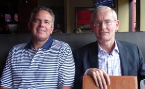 Dave with Dick Kaufmann