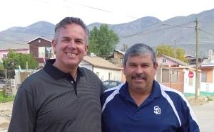 Dave with Daniel Nunez