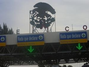 The Border Crossing into Tijuana, Mexico