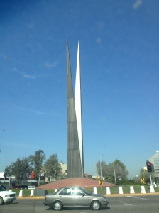 A Monument in Tijuana
