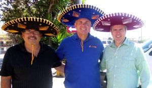 Daniel Nuñez, Ray Call and Dave - The Three Amigos!