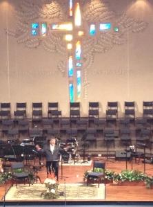 Pastor Mark Bates at Village Seven