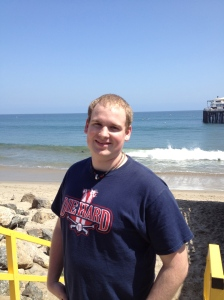 David Jr. at Malibu Beach