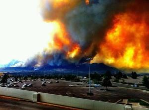 This is taken from the Chapel Hills Mall - on the north part of the city