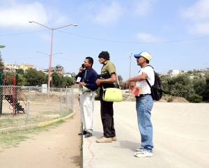 Some of the guys we were out sharing with In Rosarito