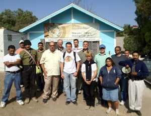 Our group in Rosarito that went out to share the good news!