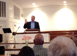 Dave at Timonium Presbyterian Church