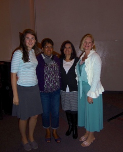 Emily, Oliva, Elizabeth and Dawn (from left to right)