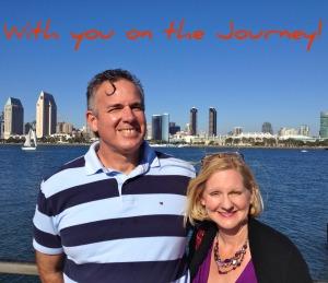 Dave & Dawn at San Diego Harbor