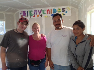 David & Dawn with Pastor Rodrigo and his daughter