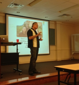 Dave Presenting at Covenant Seminary
