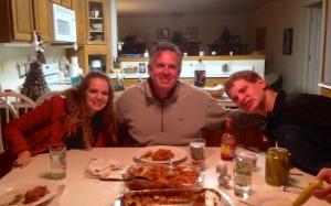 Dave with Hannah & Jon