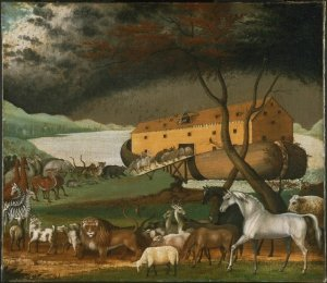 Noah's Ark (1846), a painting by the American folk painter Edward Hicks