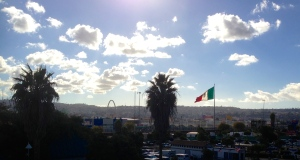 Tijuana at the San Ysidro Border crossing
