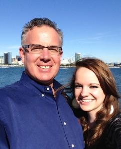 Dave & Hannah Diaso at Coronado Island San Diego Harbor