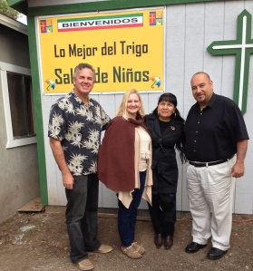 Dave & Dawn with pastor Leo and Gloria Nevarez (they pastor in Rosarito)
