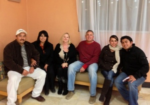 Rodrigo & Nancy, Dawn & Dave, Martha & Abraham (from left to right) pastors, ministers, pastors wives