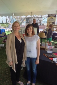Dawn with a new friend at the missions conference, Biola University