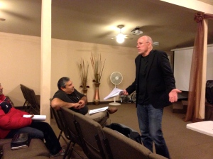 Bill Yarbrough teaching the pastors at LMT