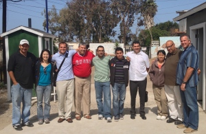 The pastors from Lo Mejor del Trigo that we met with last week.