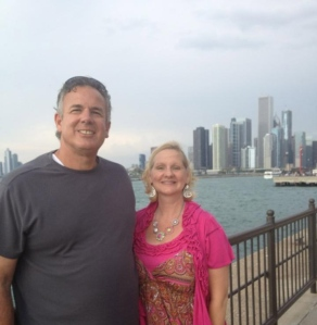 Dave and Dawn in Chicago