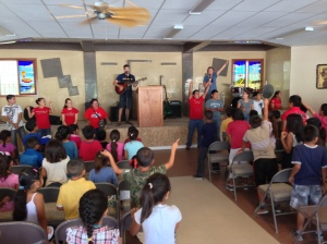 Fun in Worship with the Children