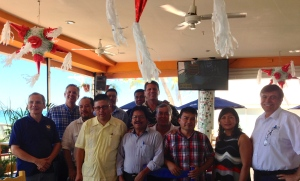 The group that met together to open up the new work in La Paz