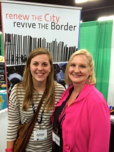 Dawn with Ashley Bates a friend from Colorado and student at Covenant College