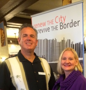 Dave and Dawn - thankful for the Lord's renewing work on the border
