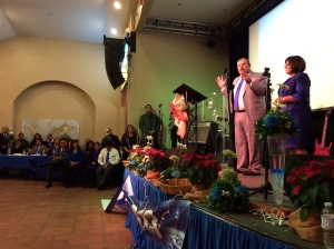 Pastor Daniel Nuñez with his wife, Yolanda