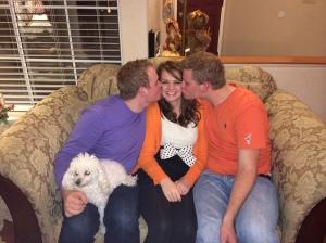 David, Hannah and Jon having some fun!