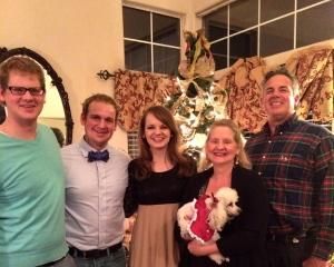 The Diaso Family at Christmas!