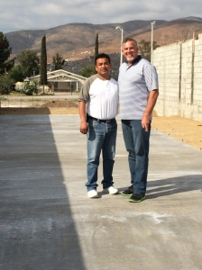 Dave with Pastor Ivan