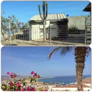 The two sides of Los Cabos.