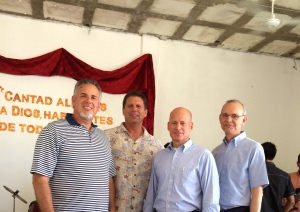 Dave with Peter Boling, Larry Trotter and Jim DeWitt in Los Cabos