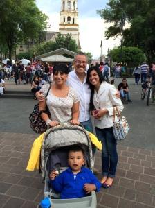 Silvia, Mario, Chivis and Daniel Silva