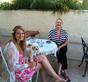 My lovely wife, Dawn with our beautiful daughter, Hannah