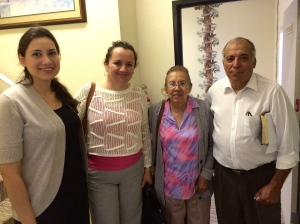 Some of our friends from the New Jerusalem church in Ensenada