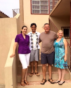 Dave and Dawn with Jesus Petrikowski and his wife Yudi