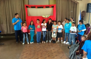 VBS at the Nueva Jerusalén church in Ensenada