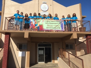 The Skyview group at the New Jerusalem church in Ensenada