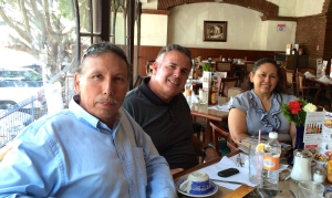 Dave with pastor Jose Luis Rivera and Raquel