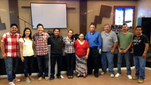 Paul and Linda Kim with the pastors from Lo Mejor del Trigo