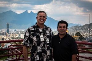 Dave & Ivan in Monterrey, Mexico