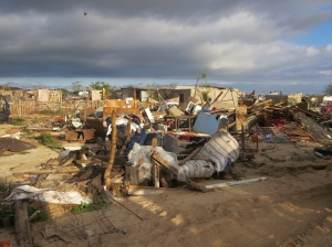 Many of the poor lost everything in the hurricane - devastating!