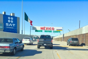 San Ysidro Border Crossing into Tijuana, Mexico