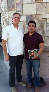 Dave with Pastor Ivan Casados