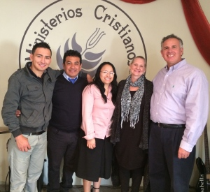 Dave & Dawn with Pastor Ivan and Rocio and their son Brandon