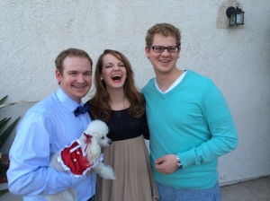 Hannah with her brothers, David Jr. & Jon