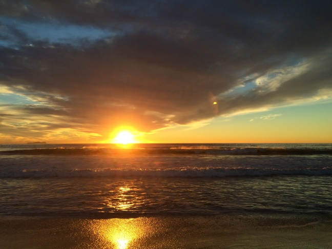 The Sunset at Imperial Beach